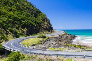 Road in Victoria Australia