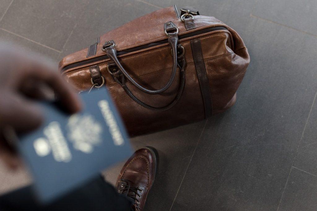 passport duffle bag